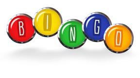 Bingo przyjęcie Obrazy Royalty Free