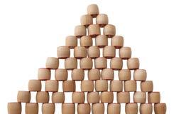 Bingo pyramid Stock Photo