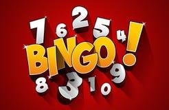 Bingo, símbolo do jackpot ilustração royalty free