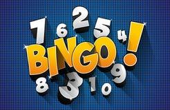 Bingo, símbolo do jackpot Imagens de Stock Royalty Free