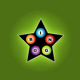 Bingo star Stock Photo