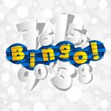 Bingo-test abstrait créatif illustration stock