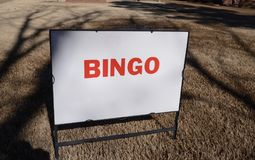 Bingo-test Palor Hall Image libre de droits