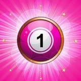Bingo winner background Stock Image