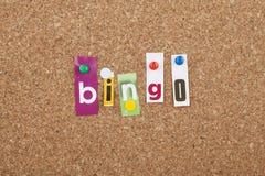 Bingo Royalty Free Stock Image