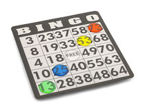 Bingo wygrana Zdjęcia Stock