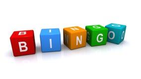 Bingo znak ilustracja wektor