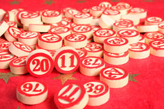 bingoen 2011 numrerar år Fotografering för Bildbyråer