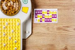 Bingospiel Lizenzfreie Stockfotografie