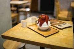 Bingsu desert food Royalty Free Stock Photo