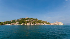 Binh Ba island in Cam Ranh City, Khanh Hoa province, Vietnam Royalty Free Stock Images