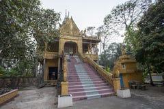 Binh Duong city. Khmer Pagoda, Kien Giang Province, Vietnam Royalty Free Stock Photo