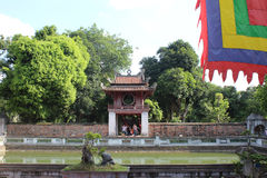Binh Duong city. Quoc Tu Giam, Hanoi City, Vietnam Royalty Free Stock Photography