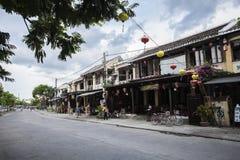 Binh Duong stad, Vietnam Arkivbild