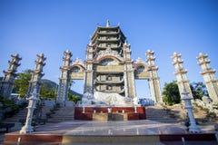 Binh Duong stad, Vietnam Royaltyfria Foton