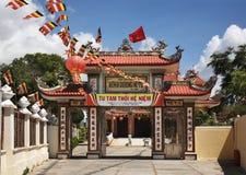 Binh Quang Ni Tu pagoda in Phan Thiet. Vietnam Royalty Free Stock Photography