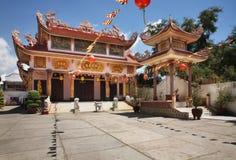 Binh Quang Ni Tu pagoda in Phan Thiet. Vietnam Royalty Free Stock Photos