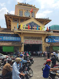 Binh Tay rynek w Ho Chi Minh mieście Fotografia Royalty Free
