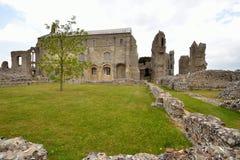 Binham Priory - Nave Stockbilder