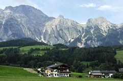 Free Binhorn In Leogang Mountains Royalty Free Stock Images - 13915519