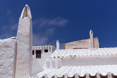 Binibequer Vell in Menorca Binibeca white village Sant Lluis Royalty Free Stock Image