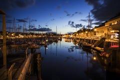 Binic, Brittany, França fotografia de stock royalty free