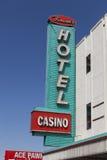 Binion的旅馆签到拉斯维加斯, 2013年4月21日的NV 库存照片