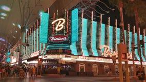 Binion's Casino. Fremont Street, Las Vegas Stock Photos