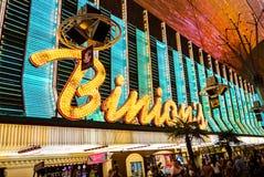 Binions kasinotecken Las Vegas Royaltyfri Fotografi