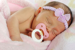 Binky Baby Stock Images