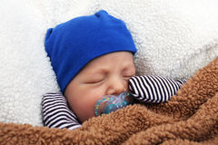 Binky baby royalty free stock photography