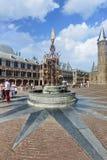 Binnehof célèbre, la Haye, Pays Bas Images stock