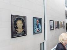 Binnen Bundeskanzleramt, Berlijn royalty-vrije stock foto's