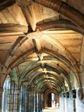 Binnen Chester Cathedral, Kerk van Engeland stock fotografie