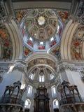 Binnen christelijke kerk Royalty-vrije Stock Foto's