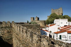 Binnen citadel Stock Foto