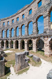 Binnen Colosseum Stock Foto