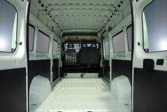 Binnen commerciële bestelwagen Royalty-vrije Stock Afbeelding