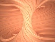 Binnen 3D mening van een torus, Royalty-vrije Stock Fotografie