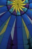 Binnen de ballon stock afbeelding