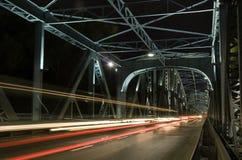 Binnen de brug van Torun Royalty-vrije Stock Foto