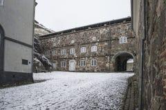Binnen de Citadel Royalty-vrije Stock Afbeeldingen