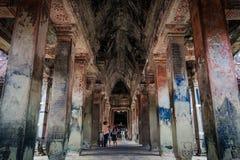 Binnen de Gangen stock afbeeldingen