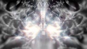 Binnen de Hersenen van de zwarte lijn van het Neuronensysteem royalty-vrije illustratie