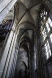 Binnen de kathedraal Stock Fotografie
