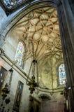 Binnen de kerk Royalty-vrije Stock Afbeelding