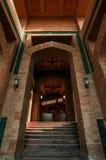 Binnen de Moskee royalty-vrije stock foto