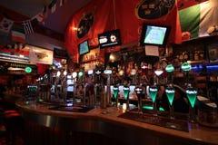 Binnen de Oliver Plunkett-bar in Cork Royalty-vrije Stock Fotografie
