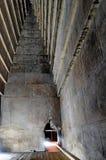 Binnen de Rode Piramide Royalty-vrije Stock Afbeelding
