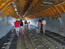Binnen de Tankervliegtuigen Royalty-vrije Stock Afbeeldingen